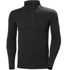 Helly Hansen Lifa Merino Midweight 1/2 Zip Men, black